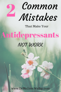 Don't make these 2 common mistakes when deciding if an antidepressant medication is effective! Without accurate expectations of treatment, people assume the antidepressants aren't effective when they may be. How long does it take for antidepressants to work? Read here to learn more.