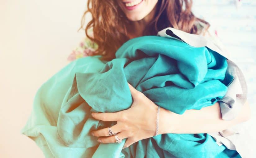Looking for more restorative sleep? A weighted blanket can make the difference! Weighted blankets for adults can be a helpful tool to improve sleep.
