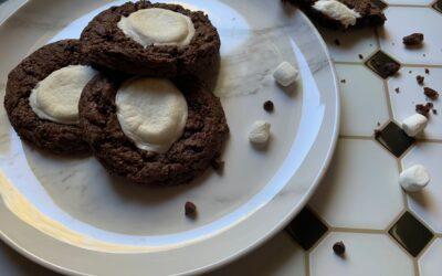 Allergy Friendly Rocky Road Brownie Cookies