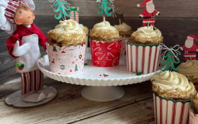 Gluten Free Vegan Spice Depression Cake with Maple Vanilla Icing