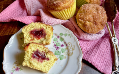 Allergy Friendly Jelly Doughnut Muffins