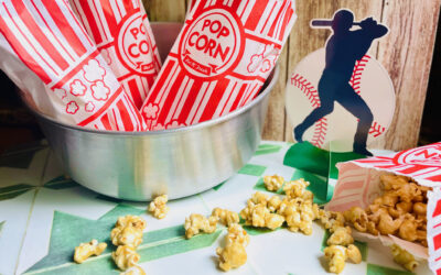 The Easiest Caramel Popcorn