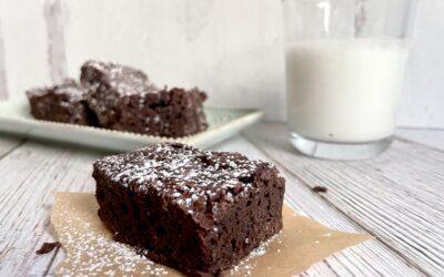 Allergy Friendly Gluten Free Vegan Fudge Brownies