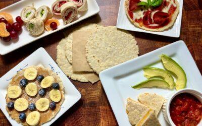 Gluten Free Vegan Oat Flour Tortillas