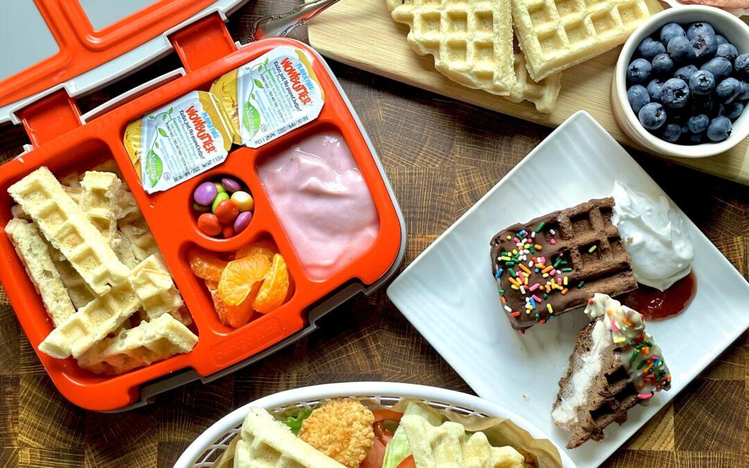 Ultimate Gluten Free Vegan Waffles