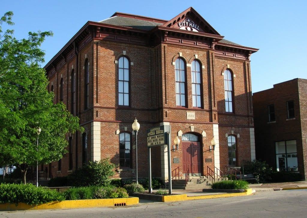 Sandwich Illinois Opera House