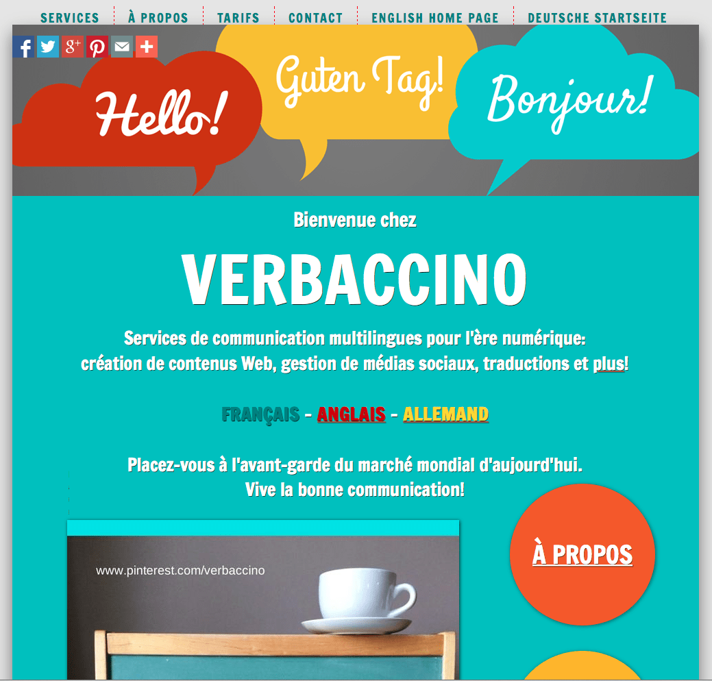 Verbaccino's French Home Page