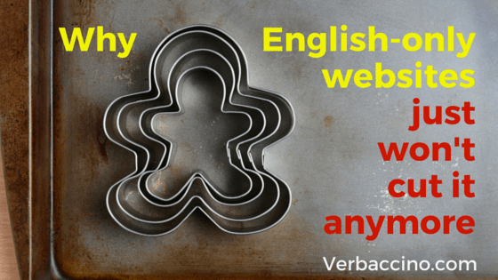 Verbaccino Blog - English-only websites