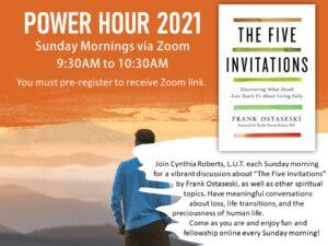 Power Hour 2021 - Sundays at 9:30 a.m.