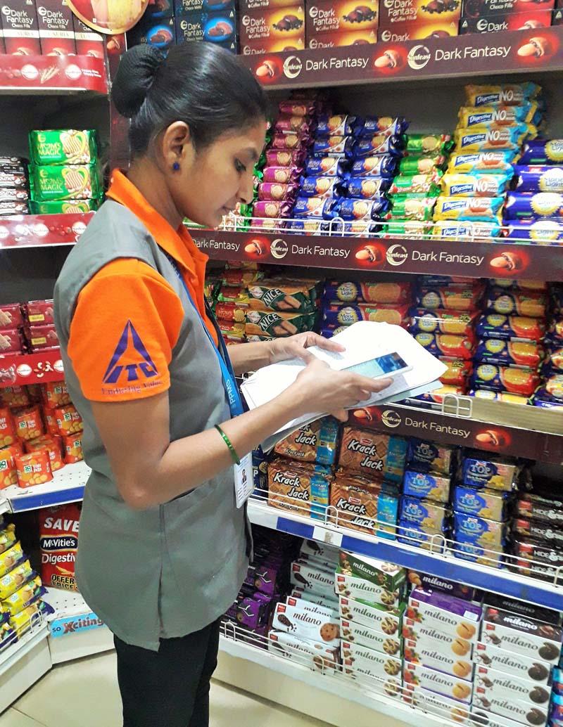 Mobile auditing for Dabur
