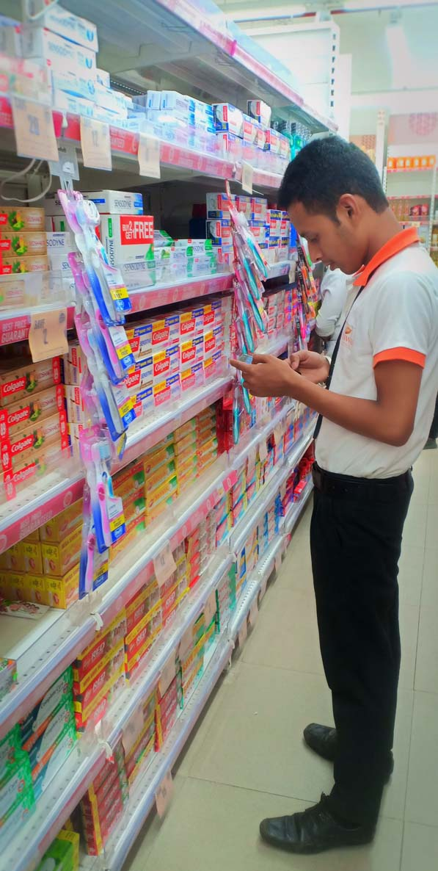 Big Bazaar retail auditing at zirakpur