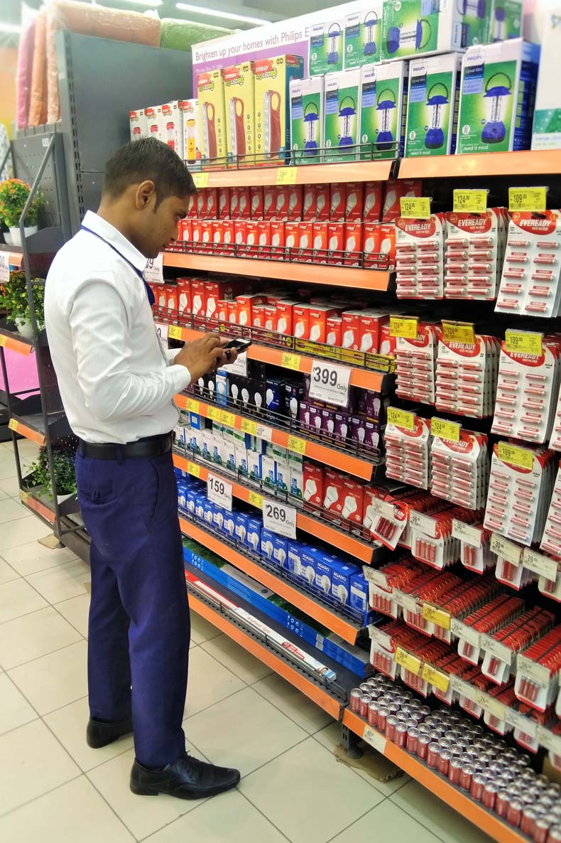 Retail store data collection mobile app