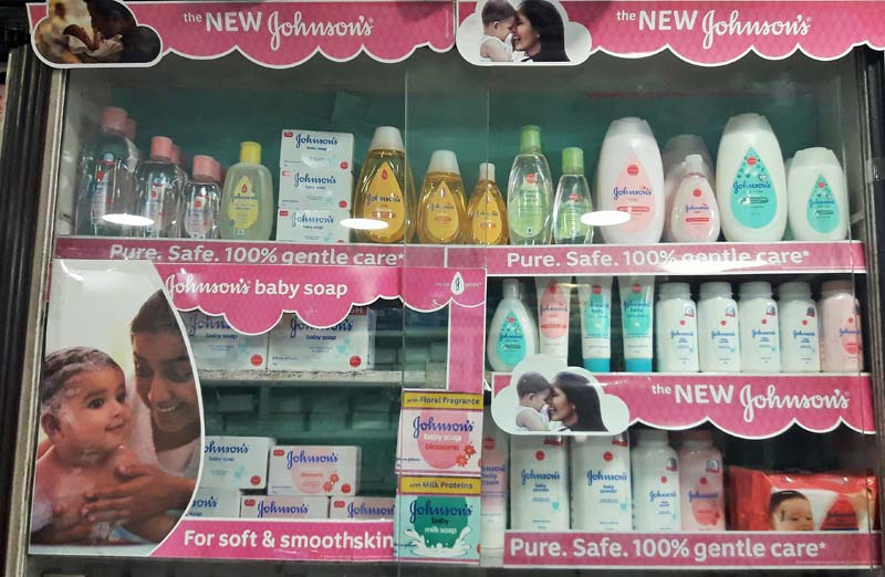 John and Johnson Baby Products -Retail Merchandising