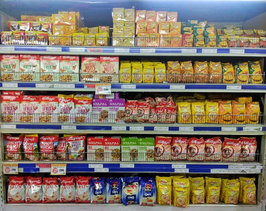 Soulfull Fruit and Nut Retail Merchandising