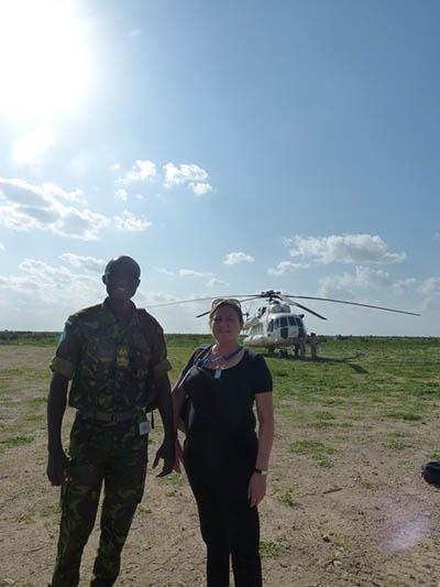 Alice Ackermann in Somalia