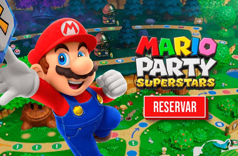 Banner Mario Party