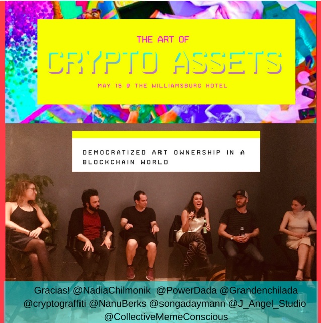 NYC Blockchain Week! The Artist Perspective