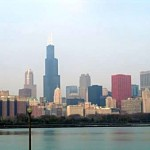 Chicago's skyline is picture perfect from outside the Adler Planetarium
