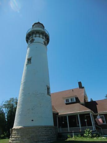A former light house keeper haunts the Seul Choix Point Light House in Michigan's Upper Peninsula