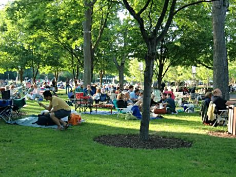 You can still picnic under the trees at Ravinia or get a dinner music package on Labor Day Weekend