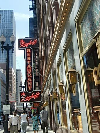 Berghoff's on Adams Street, well placed for architecture walks, is among Chicago's oldest, family-owned restaurants.the oldest