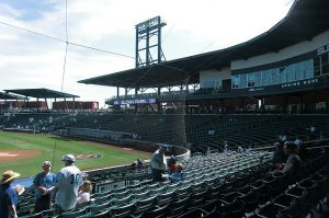 Sloan Park before the crowd enters Jodie Jacobs Photo