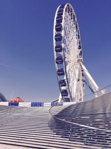Ride the Centennial Wheel at Navy Pier. Photo by Jodie Jacobs