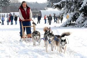 Visit Husky Heroes at the Morton Arboretum. Morton Arb photo