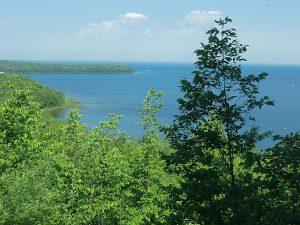 Hike, bike or take the Door County Trolley through Peninsula State Park for great views of Green Bay. Jodie Jacobs photos