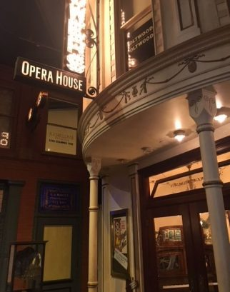 This opera house is on an old Grand Rapids street inside the PUblic Museum