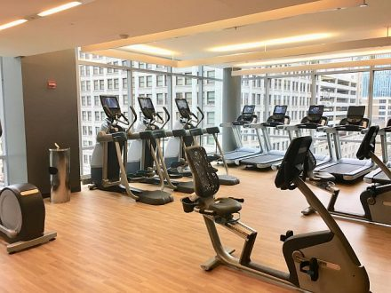The fitness center at theWit. (theWit photo)
