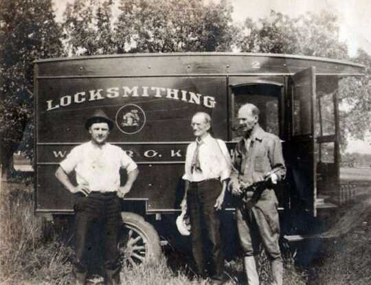 Kaehler Luggage tarted life 100 years ago. (Photo courtesy of Kaehler Luggage)