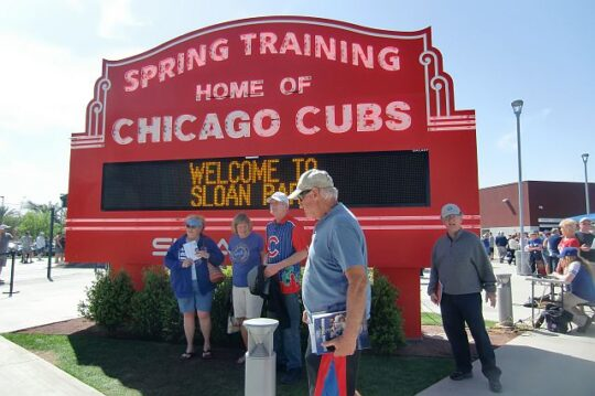 At Wrigleyville West. (J Jacobs photo)
