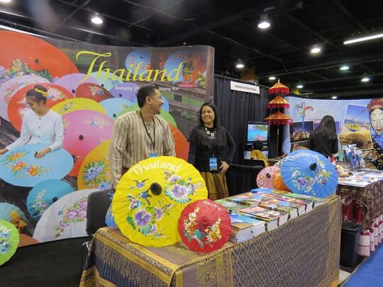 Travel and Adventure show has travel experts and knowledgeable exhibitors who can help guests decide where to go, how to get there and what to pack. ( J Jacobs photo)