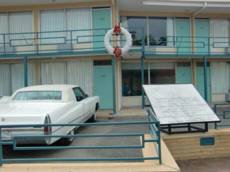 Lorraine Hotel site of the National Civil Rights Museum in Memphis. (J Jacobs photo)