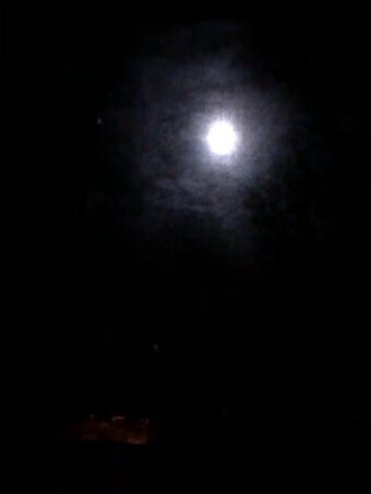 Full moon over Chicago (J Jacobs photo)