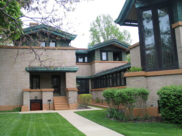 Springfield is home to a fine example of Frank Lloyd Wright's architecture. (J Jacobs photo)s