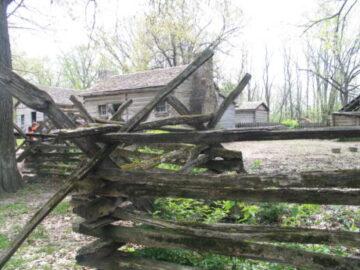 Lincoln's New Salem. (J Jacobs photo)