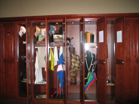 Exploring the Golf Hall of Fame (J Jacobs photo)