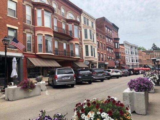 Main Street downtown Galena. (J Jacobs photo)