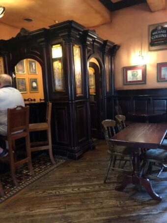 The snug at O'Dowd's Pub and Grill (J Jacobs photo)