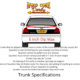 Trunk Rule for Hobby Stock and Youth Full Size