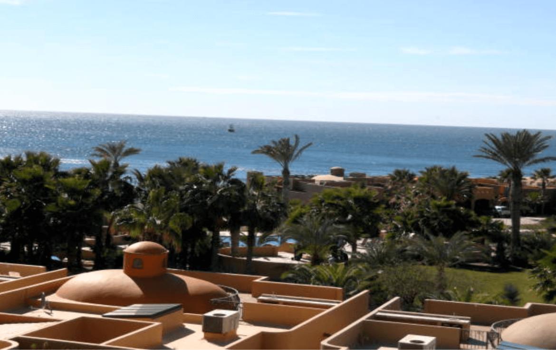 Luxurious Condo Balcony View