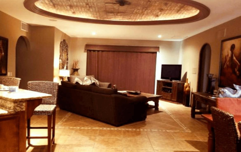 Luxurious Condo Living Room
