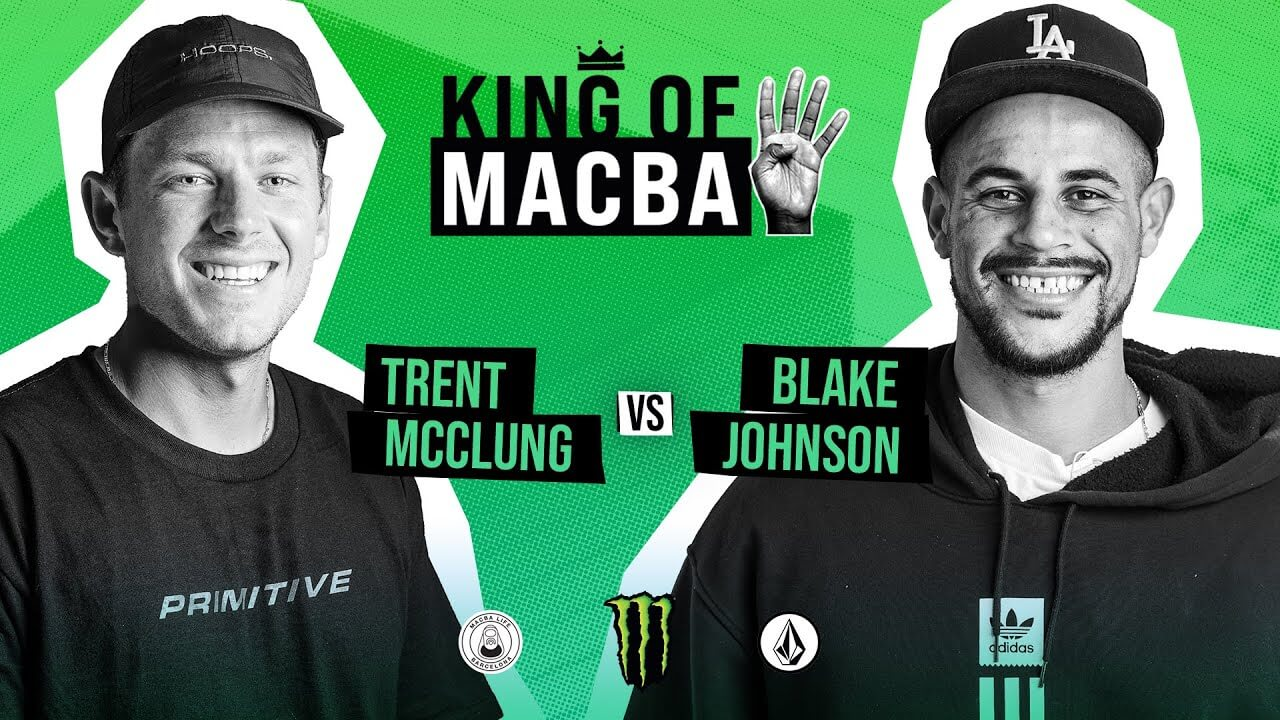 King of Macba 4 Trent Mcclung VS Blake Johnson