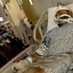 Steven Cales hospitalized