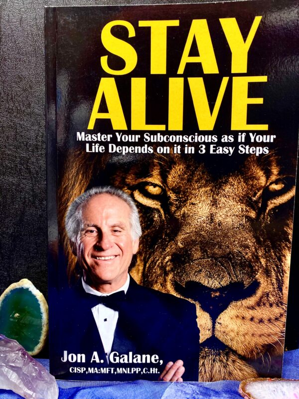 Stay Alive Book Master Your Subconscious