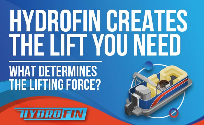 Hydrofin creates the lift you need - What determines the lifting force?