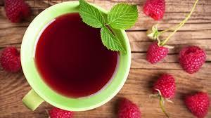 red raspberry tea