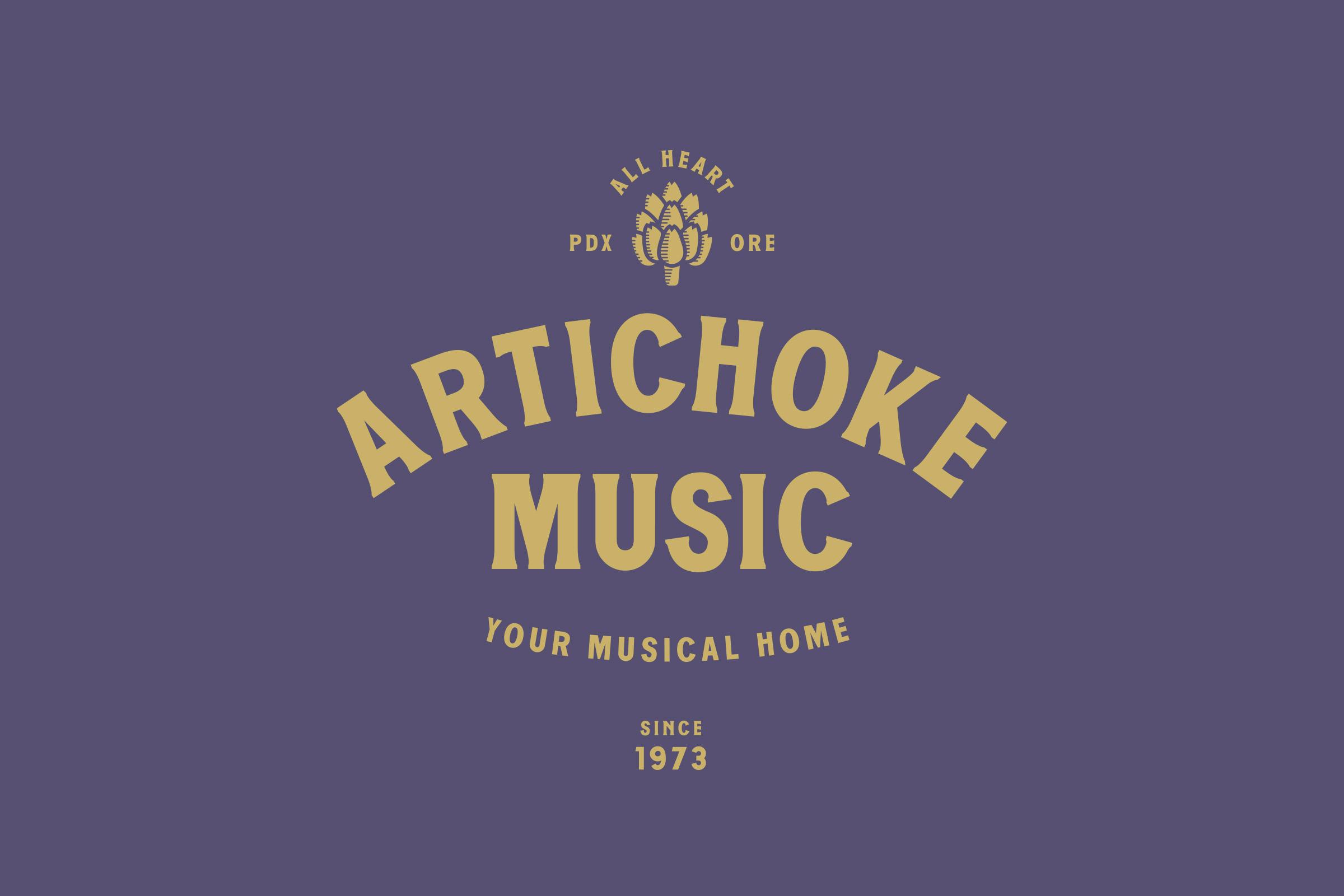 Artichoke Music Wordmark